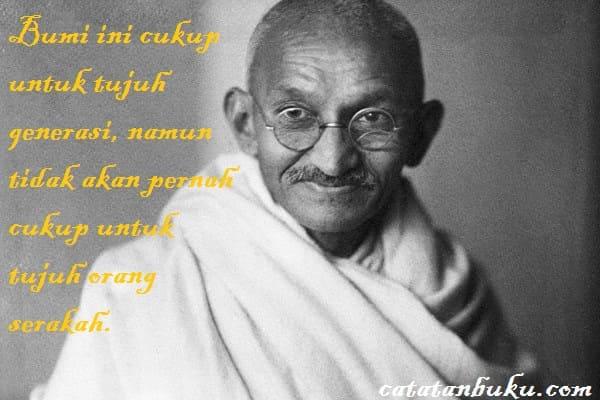 100+ Kata Bijak Mahatma Gandhi yang Menginspirasi