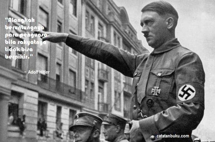 Kata-Kata Adolf Hitler: Quotes Kontroversial & Motivasi