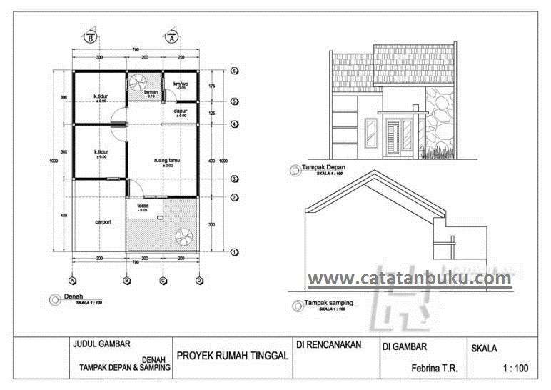Gratis Download Gambar Kerja Rumah Minimalis Pdf Catatanbuku Com