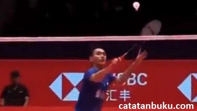 Jonatan Christie Di Bantai Oleh Raja Bulutangkis di BWF World Tour Finals