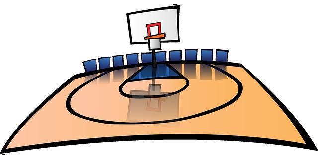 Gambar Dan Ukuran Lapangan Bola Basket Internasional Catatanbuku Com