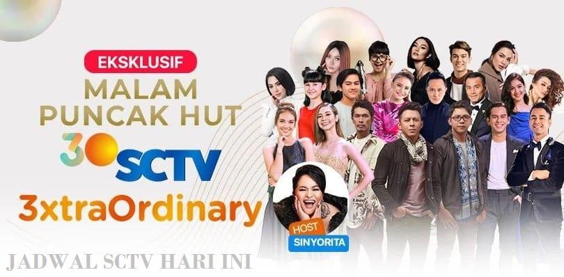 Jadwal Acara SCTV Hari ini Sabtu 29 Agustus 2020