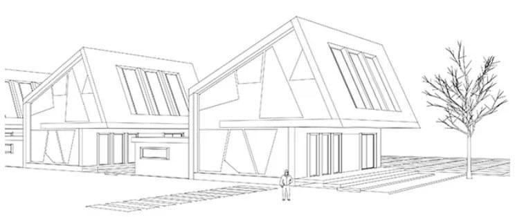 10 Sketsa Rumah Minimalis Modern 2020